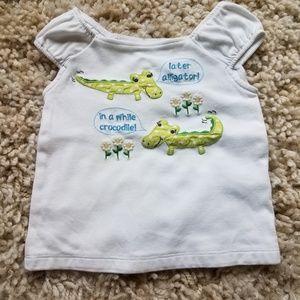 Gymboree Shirts & Tops - 3/$15!! Gymboree alligator tee